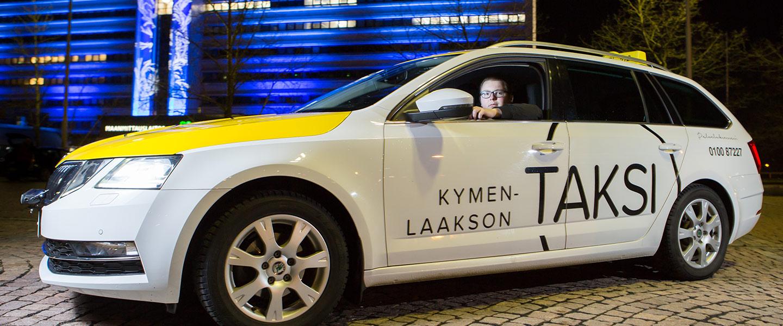 Taksi Fihlman, taksipalvelua Kouvolassa.
