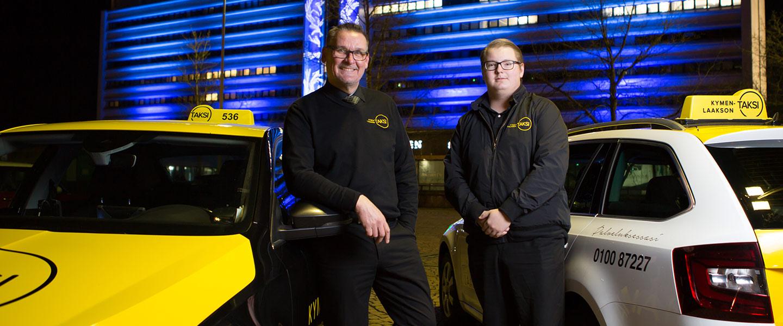 Taksi Fihlman, kuljettajat.